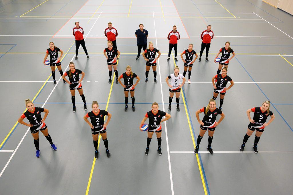 Apollo 8 Dames 1 - seizoen 2020/2021 eredivisie dames volleybal