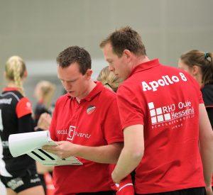 Thijs en Bart Oosting kijken met hun team uit naar de nationale bekerfinale tegen Sliedrecht Sport.