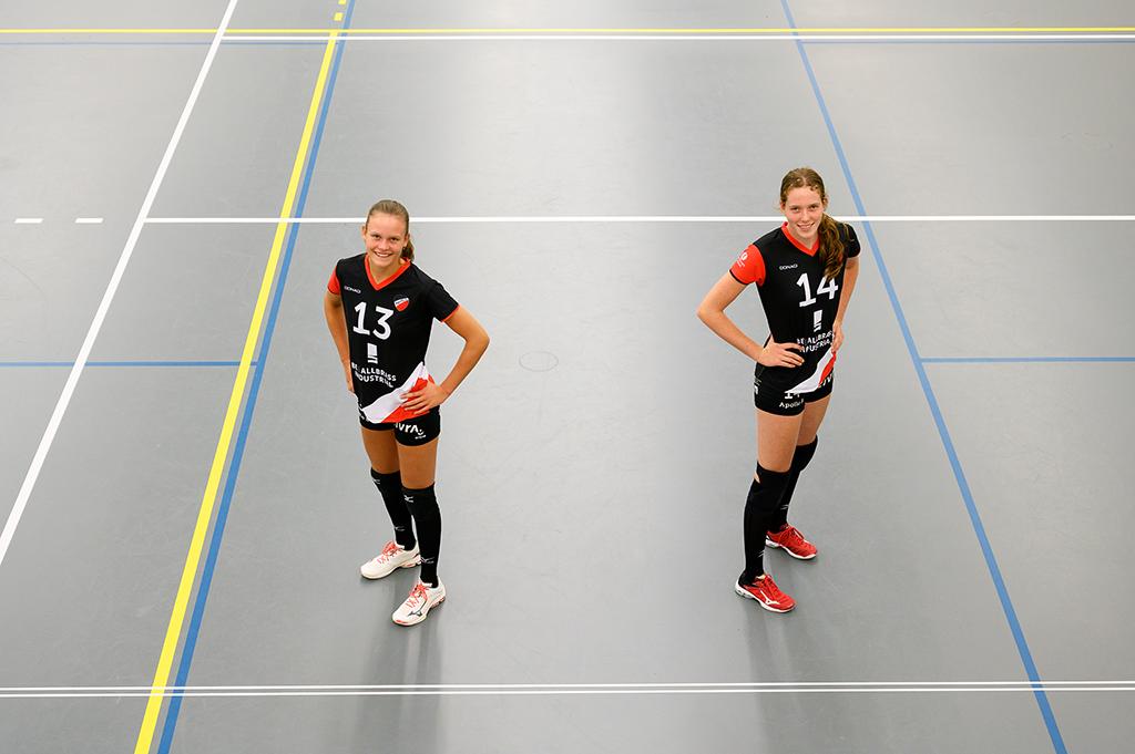 Floor Steenwelle en Lisa Louwrink zijn toegevoegd aan de selectie van Dames 1 voor seizoen 2020-2021.